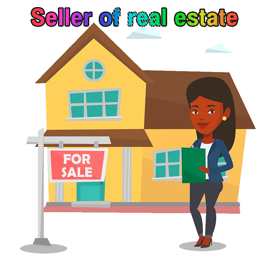 Seller of real estate